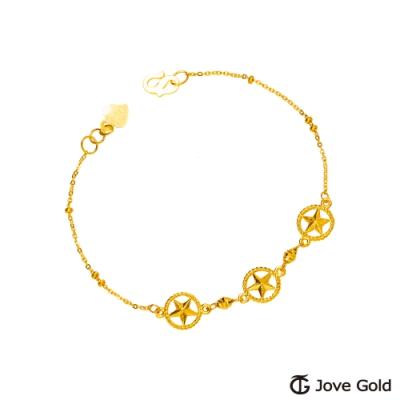 Jove gold漾金飾 奇幻元素黃金手鍊
