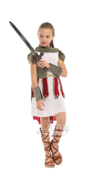 羅馬皇家女戰士L, 舞會/尾牙/萬聖/道具服/cosplay/表演/攝影/話劇,節慶王【W380065】