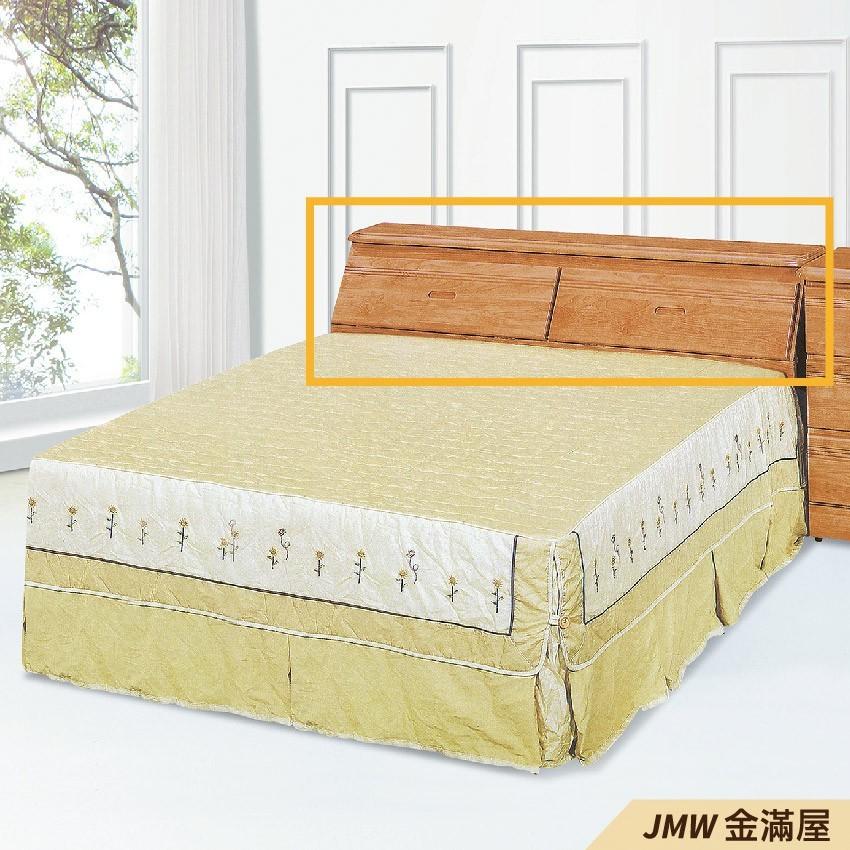 標準雙人5尺 床頭片 床頭櫃 單人床片 貓抓皮 亞麻布 貓抓布金滿屋g425-1 -