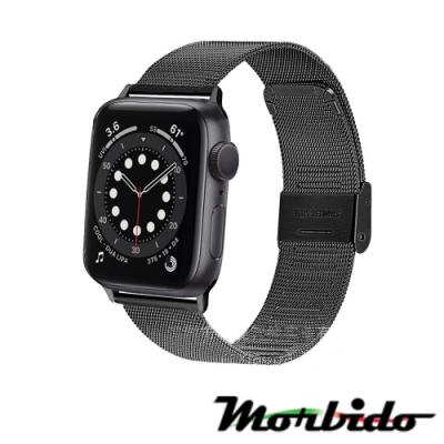 Morbido蒙彼多Apple Watch 6/SE 40mm不鏽鋼編織卡扣式錶帶