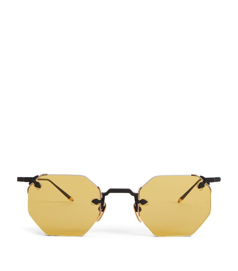 Jacques Marie Mage El Dorado Rimless Sunglasses