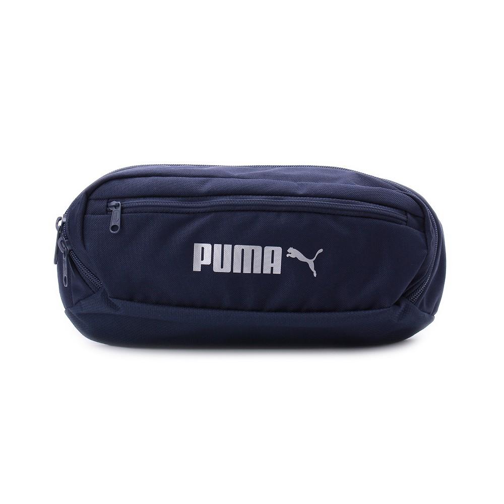 PUMA Sole Waist Bag 織帶腰包 深藍銀 7663908