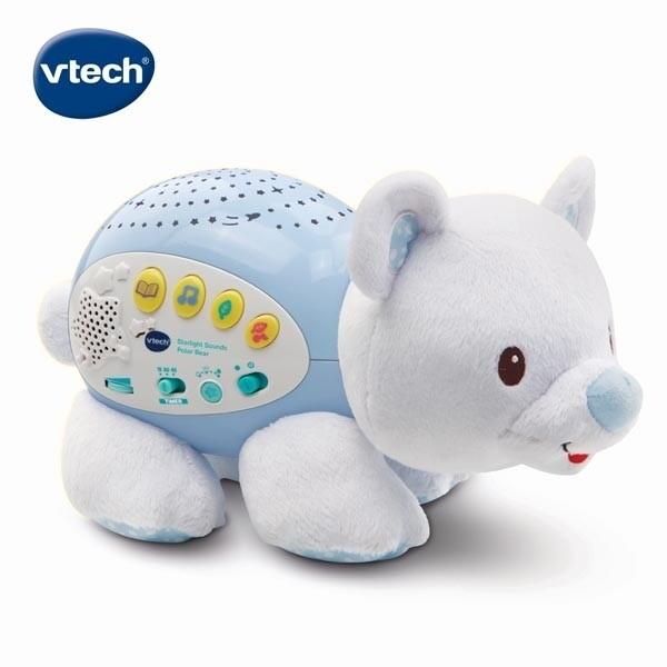 vtech 星空投射音樂北極熊佳兒園婦幼生活館
