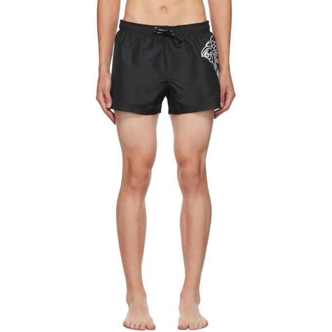 Versace Underwear 黑色 Medusa 泳裤