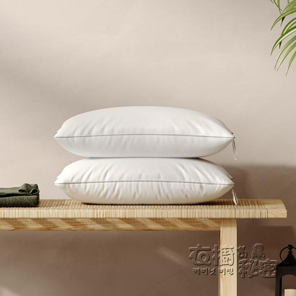 8H釋壓舒彈纖維枕抗菌對裝單人家用雙人護枕芯助睡眠枕頭 雙十二全館免運