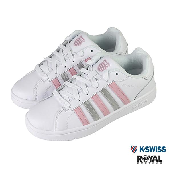 K-swiss Montara 白色 皮質 休閒運動鞋 女款NO.J0559【新竹皇家 96922-195】