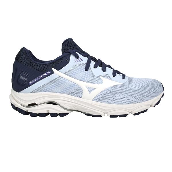 MIZUNO WAVE INSPIRE 16女慢跑鞋-WIDE(免運 寬楦 美津濃≡體院≡ J1GD20461