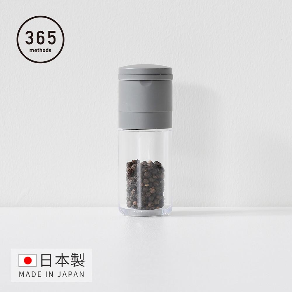 日本365methods日製陶瓷磨芯胡椒粒調味研磨罐-55ml
