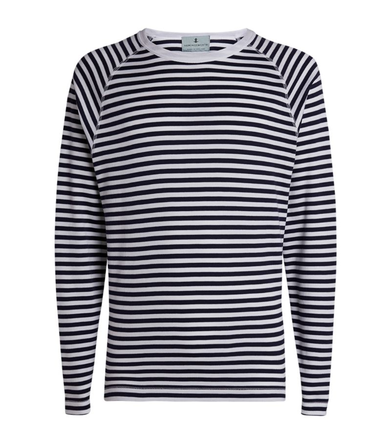 Hemingsworth Breton-Stripe Pablo Sweater