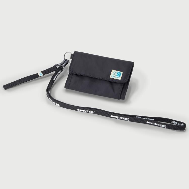 Karrimor 帆布皮夾/錢包/短夾 VT wallet 黑色 53618VW