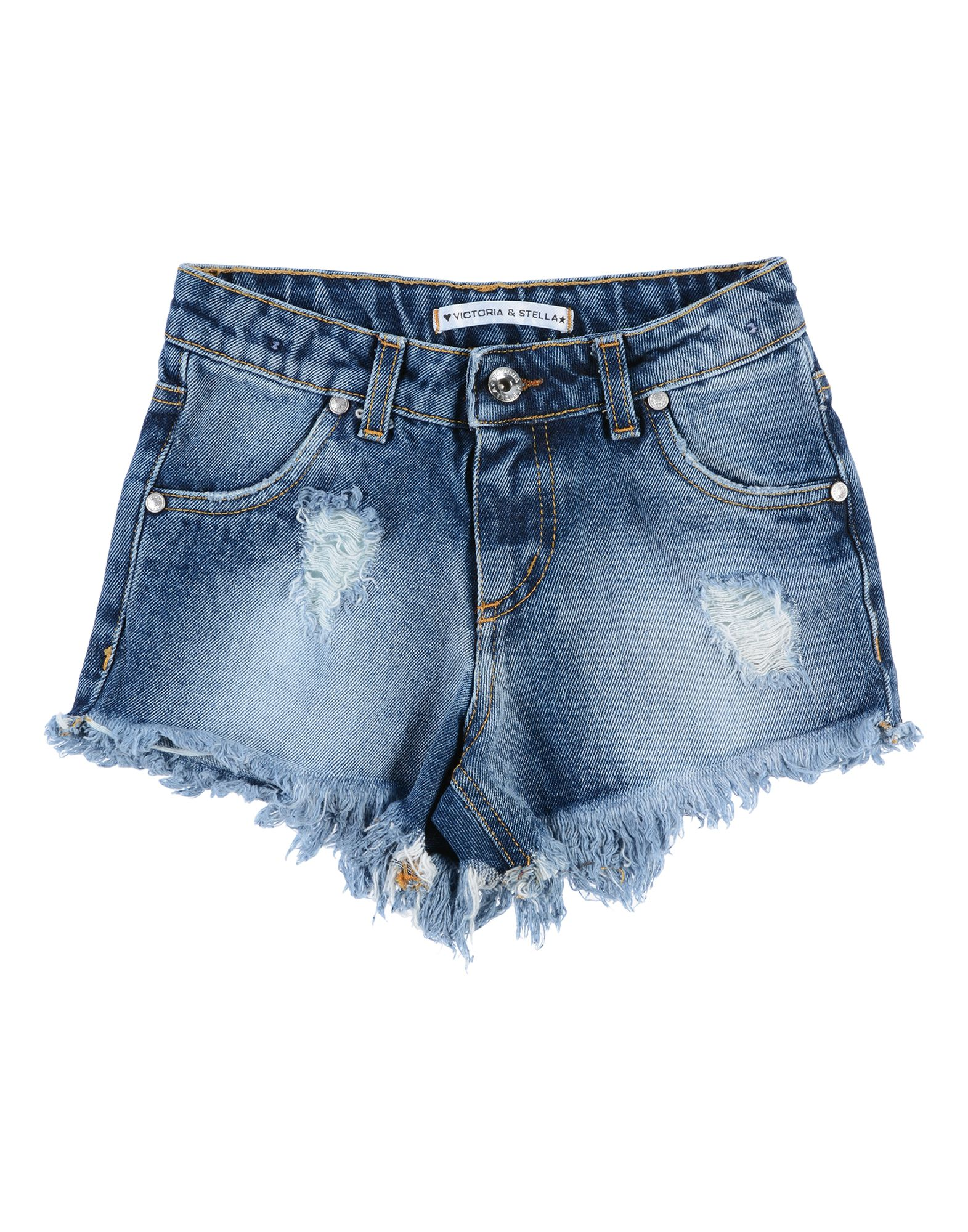 VICTORIA & STELLA Denim shorts - Item 42695753