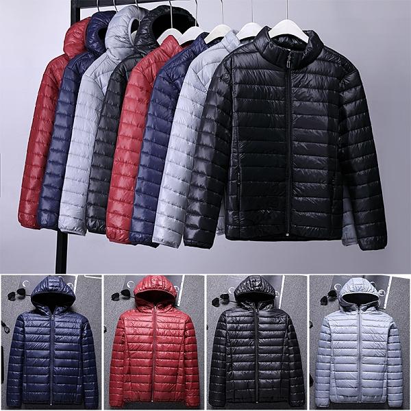 韓版外套保暖羽絨外套 冬季青年輕便潮流棉服 時尚夾克外套加絨 百搭加厚男生外套 男士外套厚款