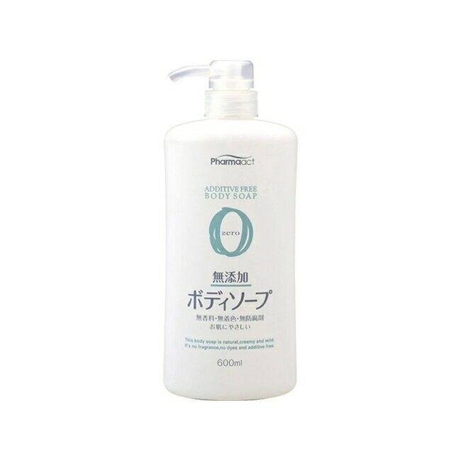日本熊野 無添加沐浴乳 600ml(zero)