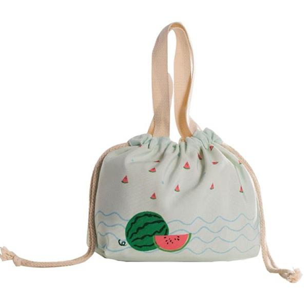 便當袋 飯盒袋上班族簡約便當袋子手提包大號可愛飯盒包時尚便當包保溫袋