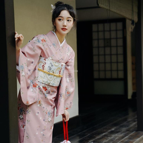 非質量問題不接受退換 限時賞味少女日本浴衣復古日系攝影道具改良和服夢里花落知多少 設計師