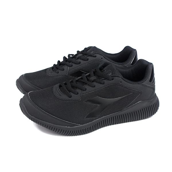 DIADORA 運動鞋 慢跑鞋 男鞋 黑色 DA174897-C0200 no022