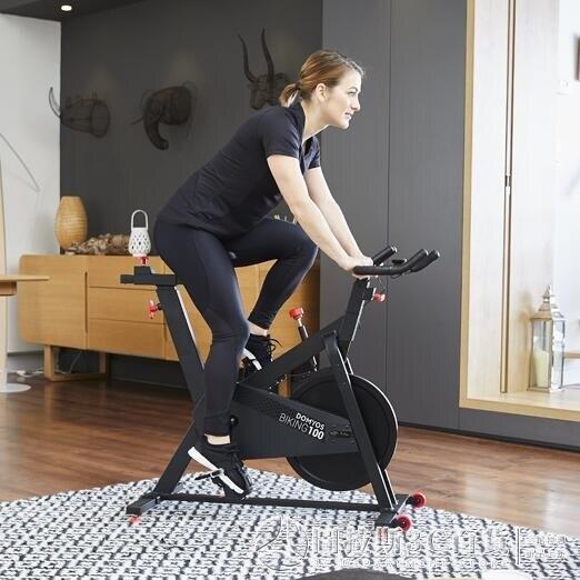 動感單車 健身車 家用靜音室內自行車 腳踏健身車 健身器材 樂樂百貨