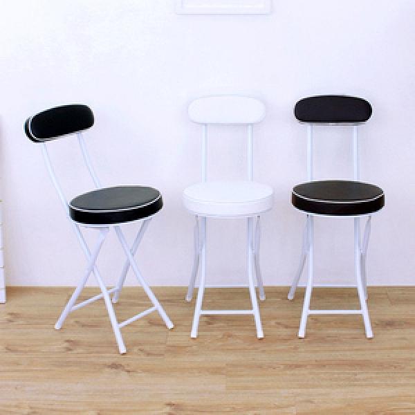 【頂堅】沙發椅座(高背)折疊椅/摺疊洽談椅/野餐露營椅-三色-6入組白色