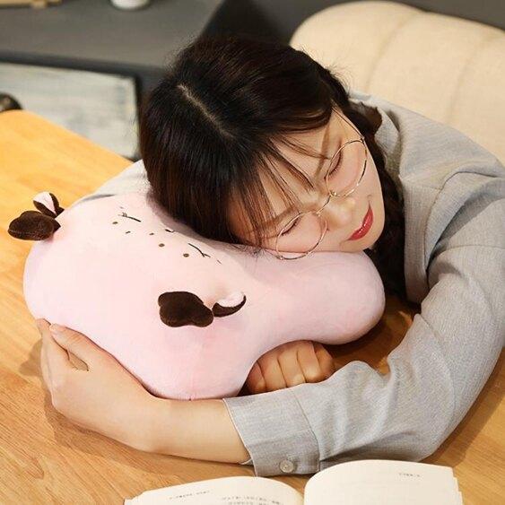 辦公室午睡枕趴著睡覺神器枕頭午休枕趴趴枕小學生教室趴睡枕夏季