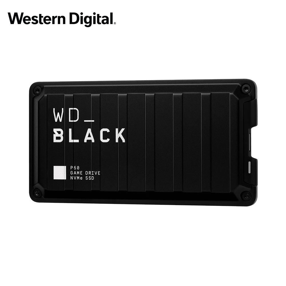 WD 黑標 P50 Game Drive SSD 2TB 電競外接式固態硬碟
