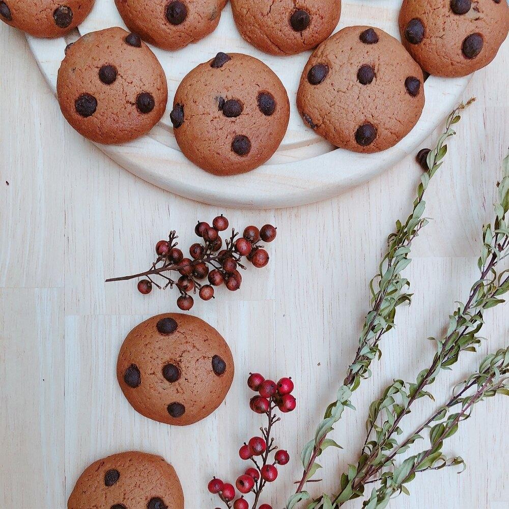 美式巧克力豆豆餅 (150g) - 人氣NO1手工餅乾