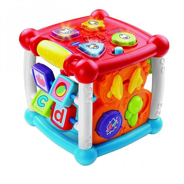 【 Vtech 聲光玩具 】聲光互動學習盒 / JOYBUS玩具百貨
