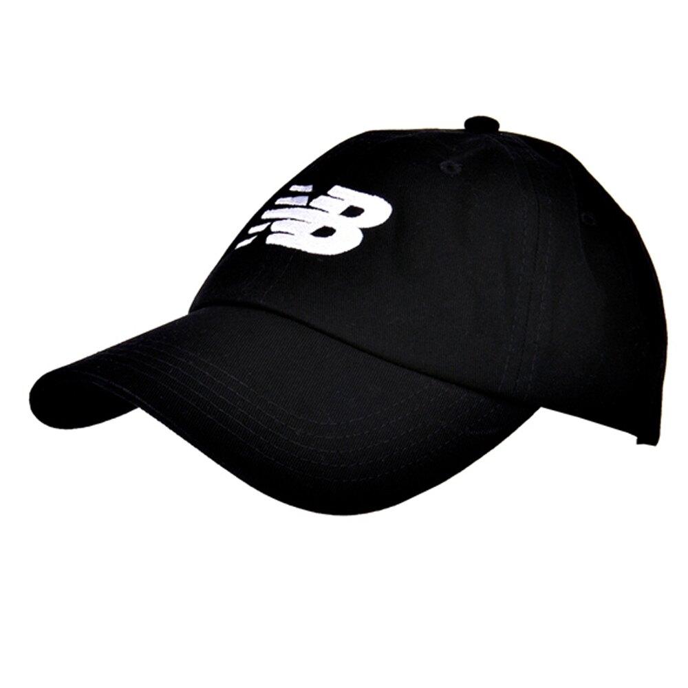 New Balance 老帽 可調式 經典LOGO基本 黑 【運動世界】LAH91017BK