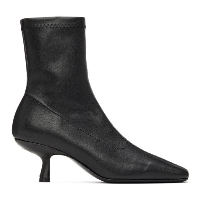 BY FAR 黑色 Audrey 踝靴