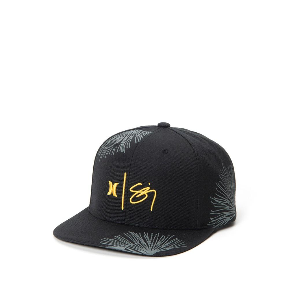 Hurley M SIGZANE WAILEHUA HAT BLACK 棒球帽(黑)