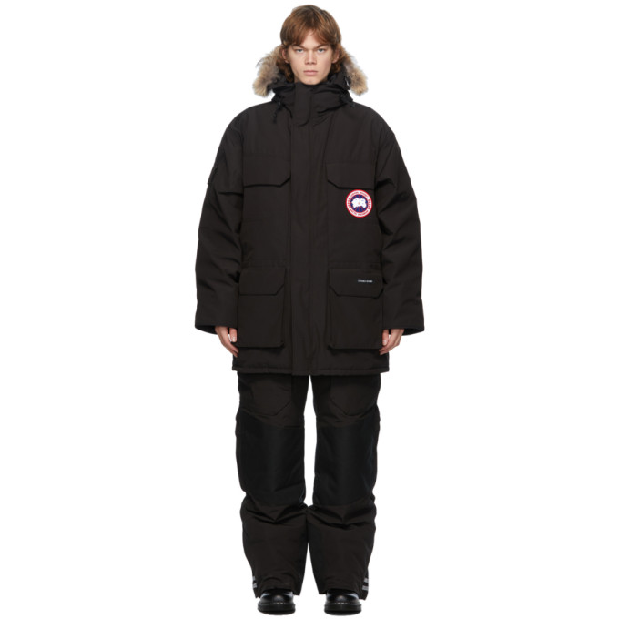 Canada Goose 黑色 Expedition 派克大衣
