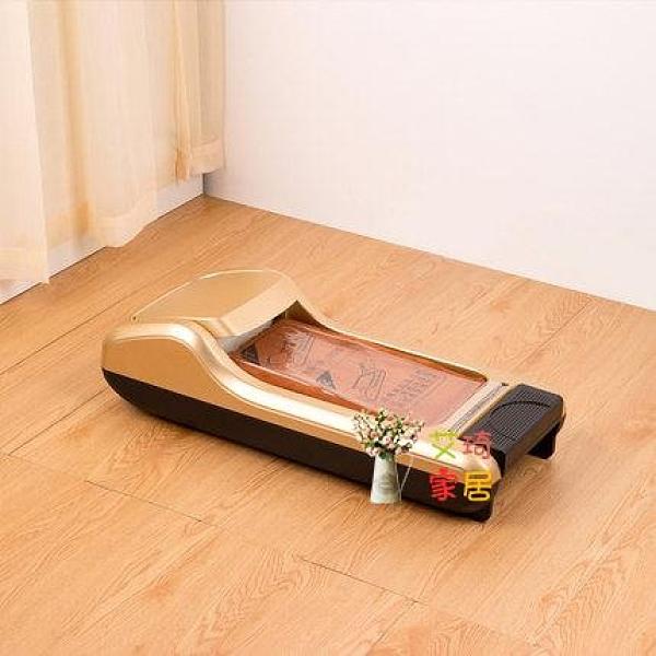 鞋套機 家用全自動一次性新款鞋膜機腳膜機器智慧腳套器踩腳鞋模機T