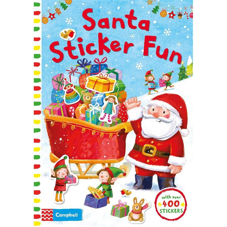 Santa Sticker Fun/Ag Jatkowska eslite誠品