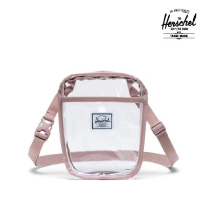 【Herschel】Cruz 透明斜背包-玫瑰粉