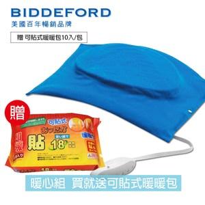 【美國BIDDEFORD】 舒適型熱敷墊+可貼式暖暖包FH200CH_