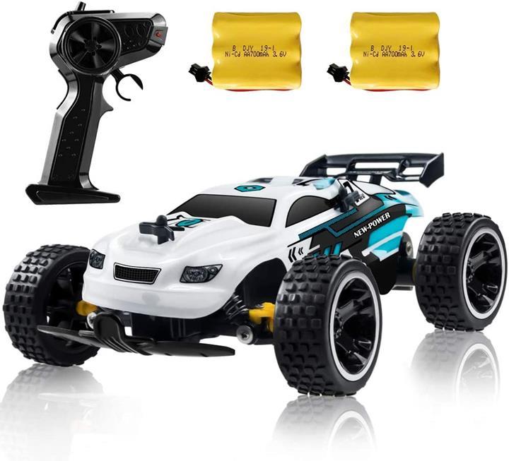 【美國代購】RC賽車 高速遙控車 1:18兩驅玩具車男孩和女孩的童車
