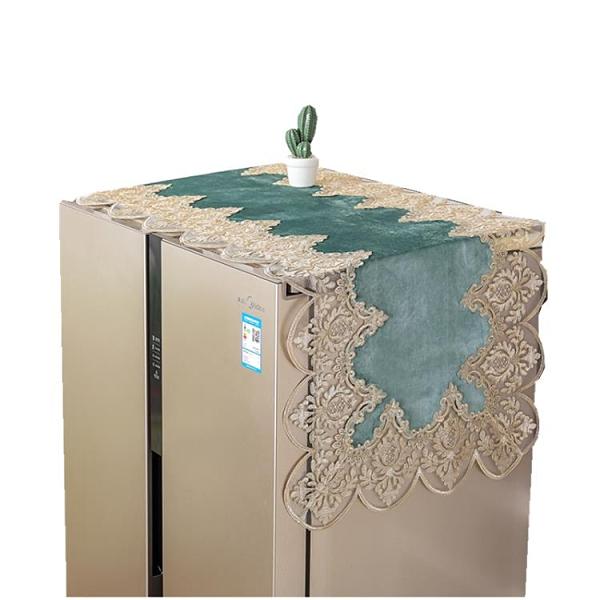 冰箱罩 冰箱防塵罩防塵布蓋布保護罩微波爐洗衣機雙開門單開門冰箱罩蓋巾