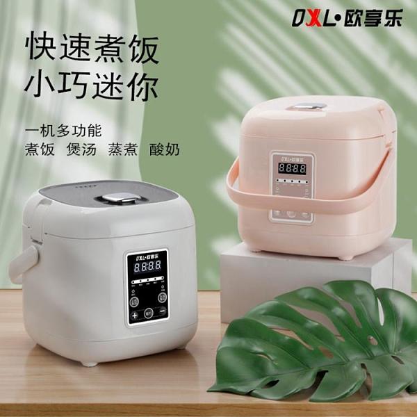 新款高端電飯煲家用小型迷你2L升電飯鍋智慧預約定時 【母親節禮物】