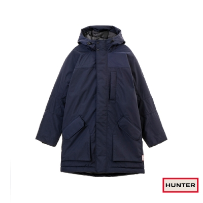 HUNTER - 男裝 - 防水塗層聚脂纖維大衣 - 藍