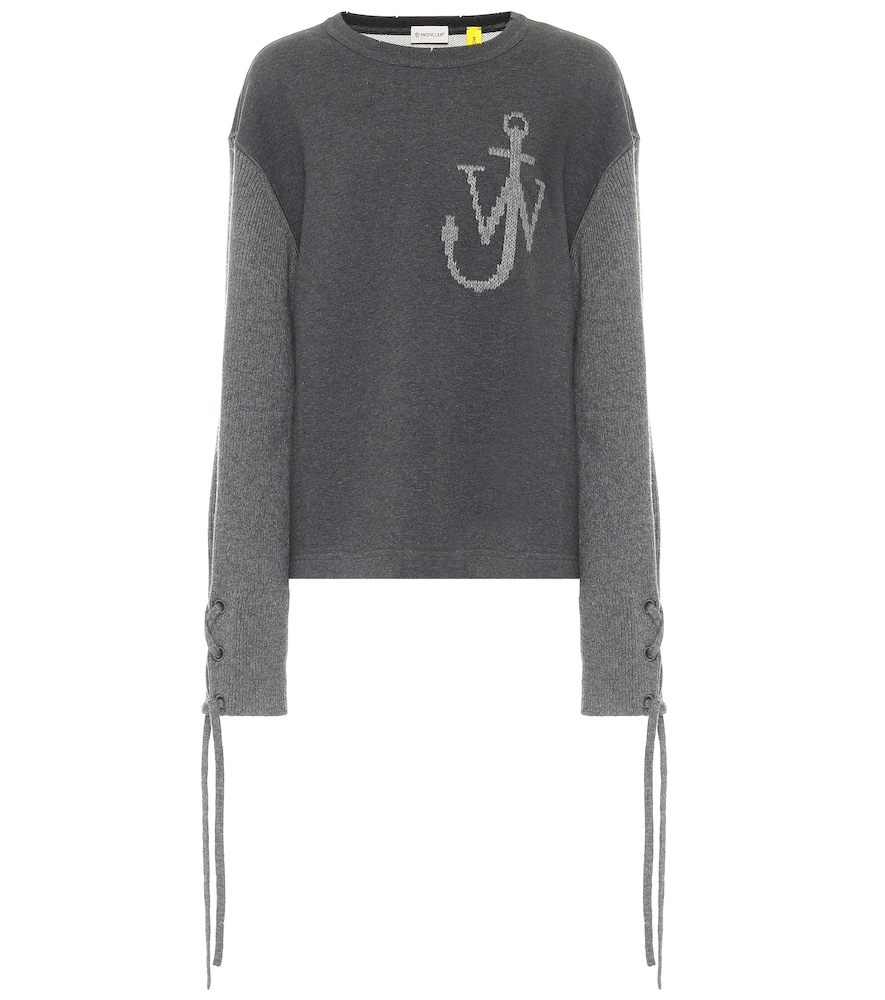 1 MONCLER JW ANDERSON cotton and wool sweatshirt