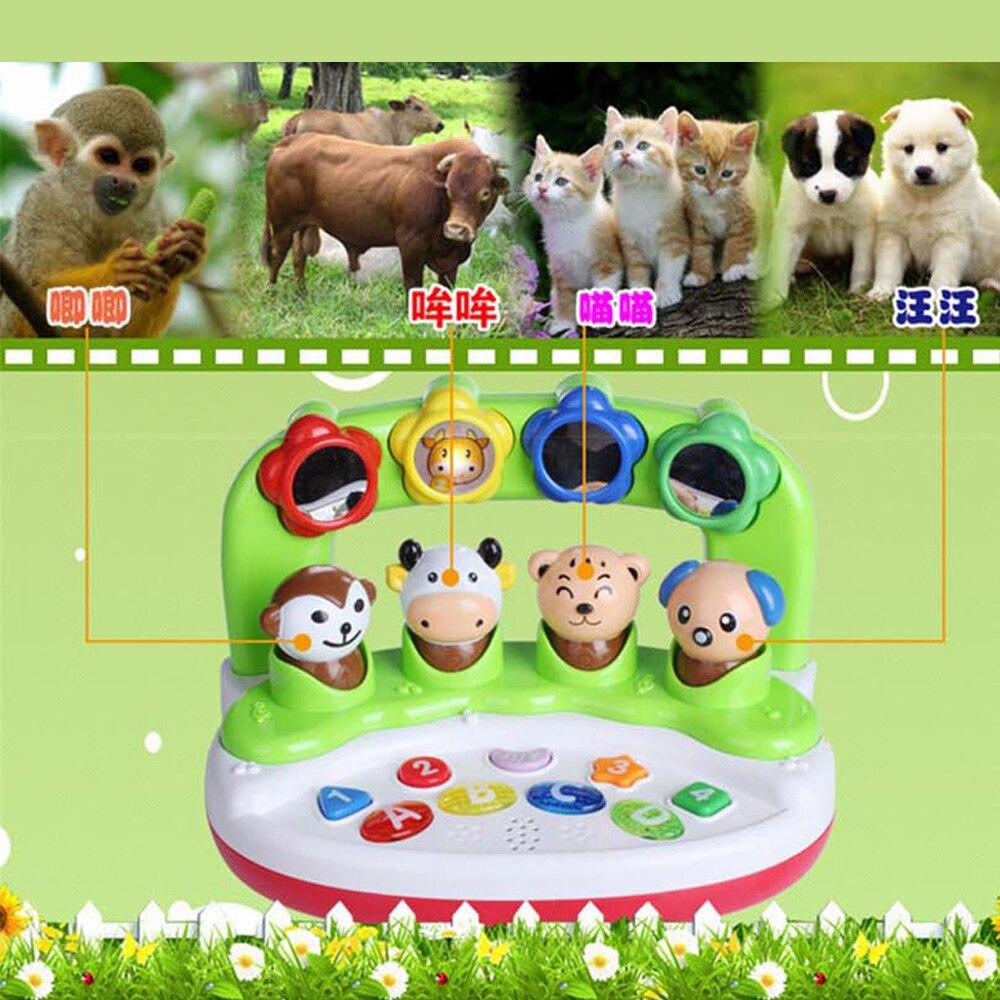 【GCT玩具嚴選】阿貝魯動物樂園 動物聲光玩具 寶寶玩具