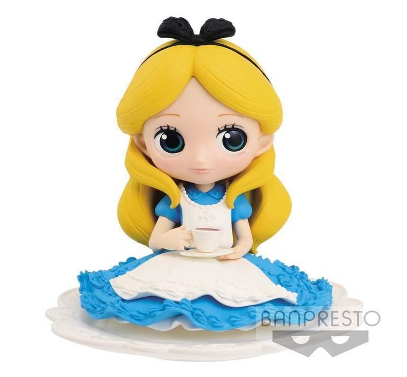 BANBRESTO 玩具 景品 Q POSKET 迪士尼 公主系列 代理 正常色 艾莉絲 愛麗絲 下午茶