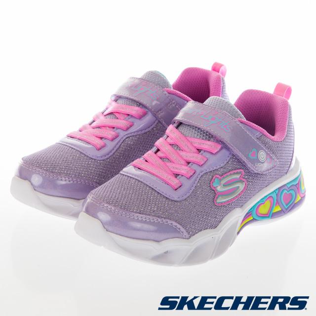 SKECHERS 女童系列 SWEETHEART LIGHTS 燈鞋-302304LLVMT