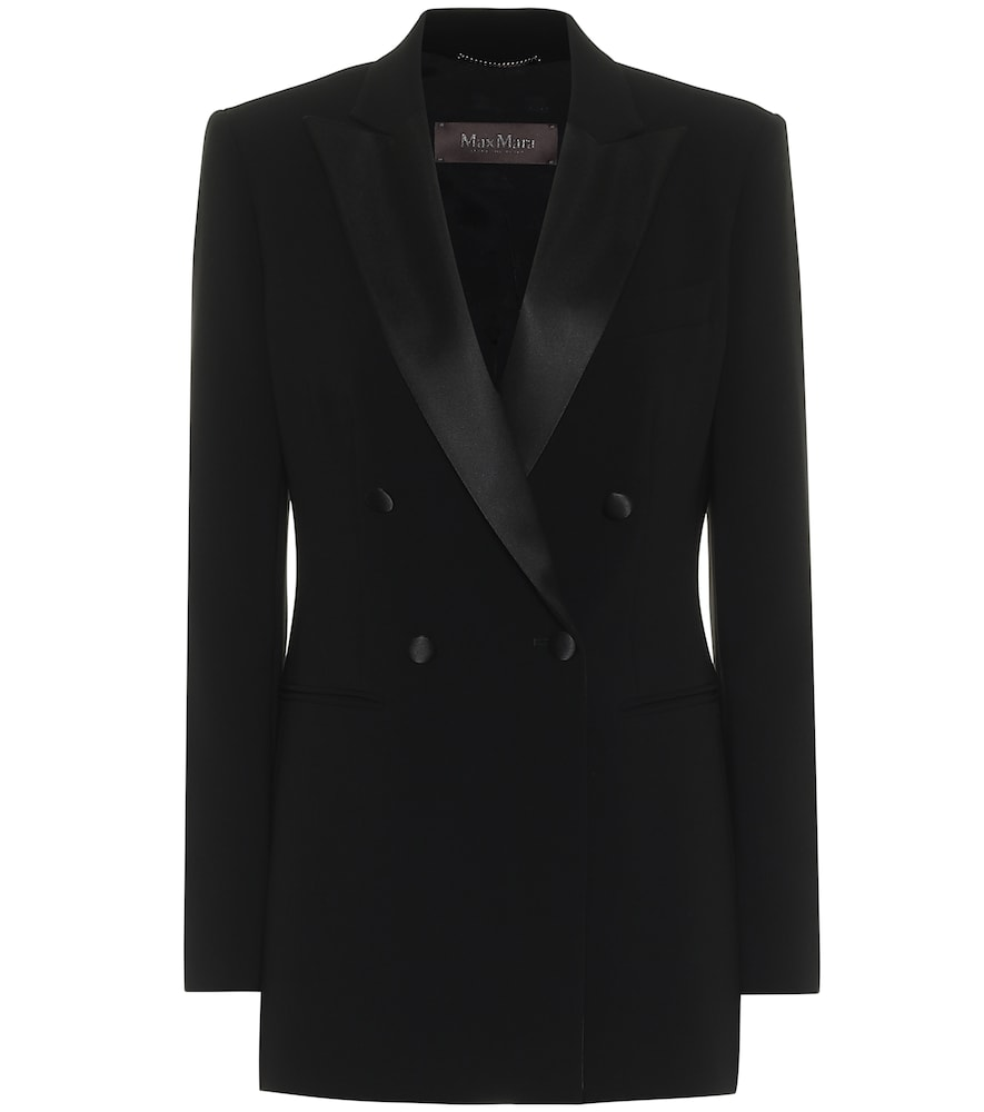 Lolly crêpe blazer