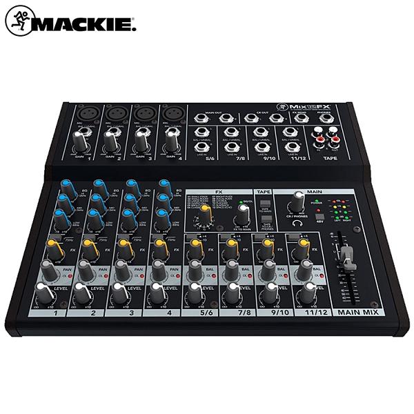 Mackie MIX12FX 混音器-原廠公司貨