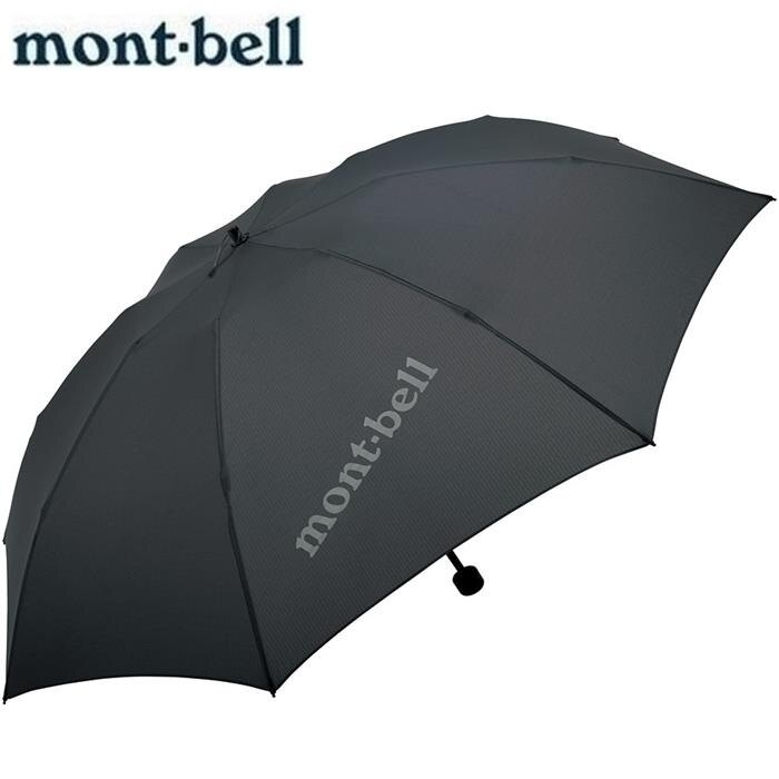 Mont-Bell 輕量戶外傘/折傘 超輕150g Trekking Umbrella 1128550 CHGY炭灰