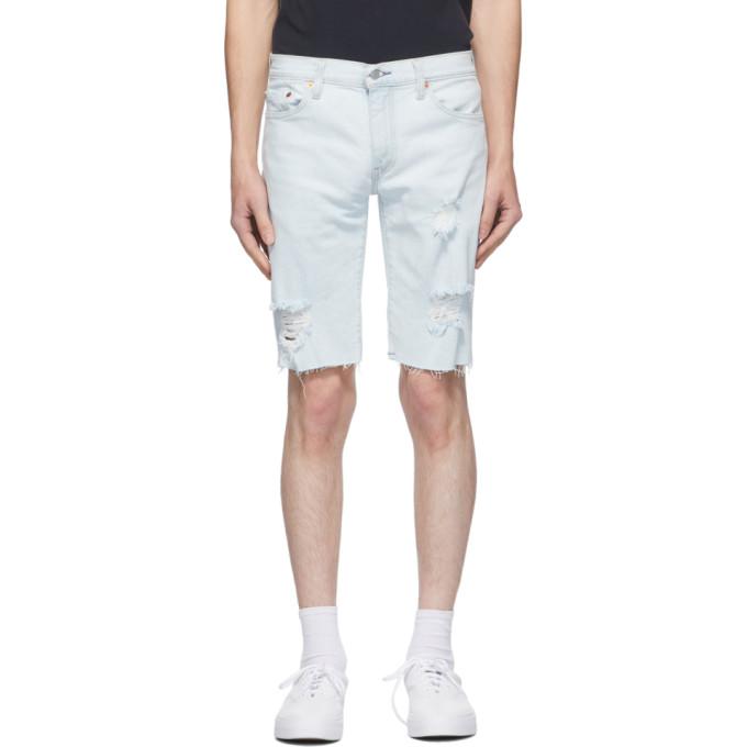 Levis 蓝色 511™ Cut-Off 修身牛仔短裤