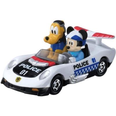 任選TOMICA DS-01警急救援警隊-米奇+布魯托DS14226 米奇妙妙保衛隊 迪士尼小汽車