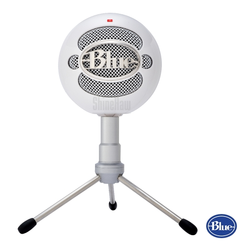 【領券折$100】美國BLUE Snowball iCE小雪球USB麥克風[白色] 兩年公司保固