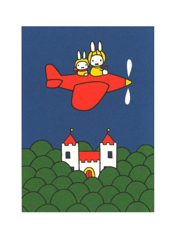 square miffy Post Card/ BPC-210 eslite誠品