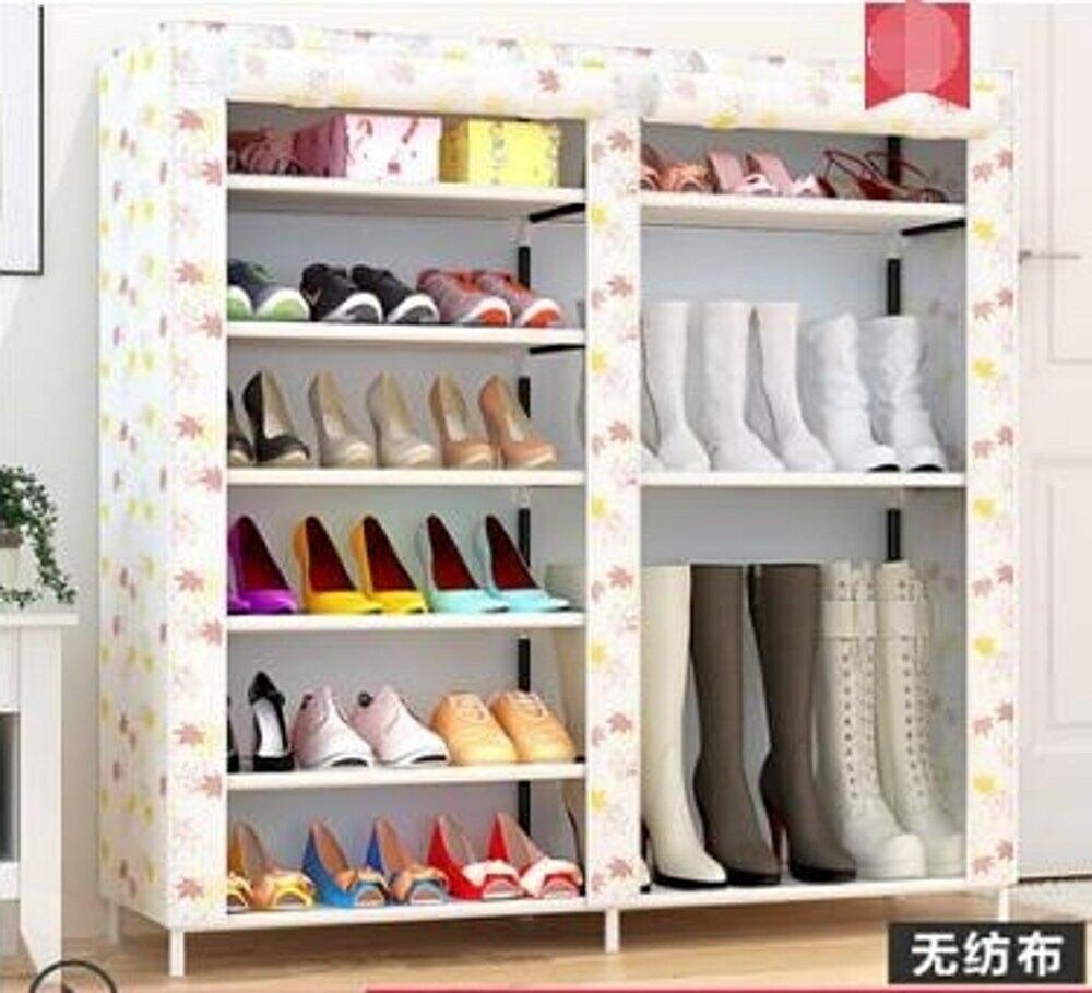 鞋架 簡易鞋架家用組裝多層宿舍門口防塵小號鞋架子省空間布鞋櫃經濟型jy